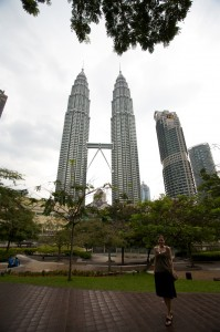 ... petronas towers ...