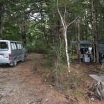 ... unser erstes Camp ...