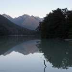 ... Lake Fergus im Fiordland National Park ...